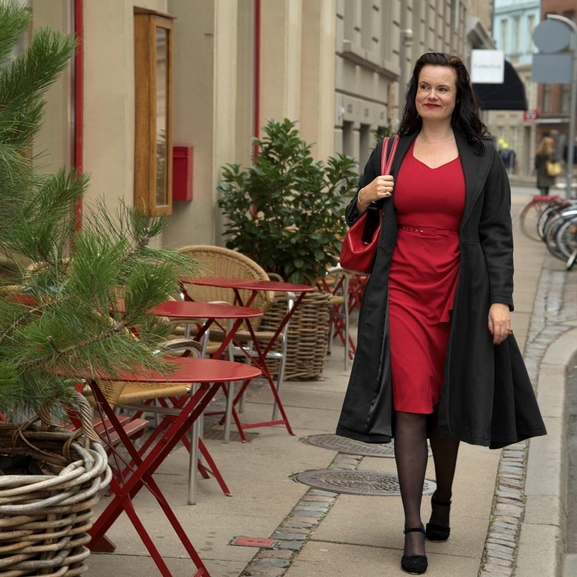 Leonora Christina Skov in clothes from Mondo Kaos