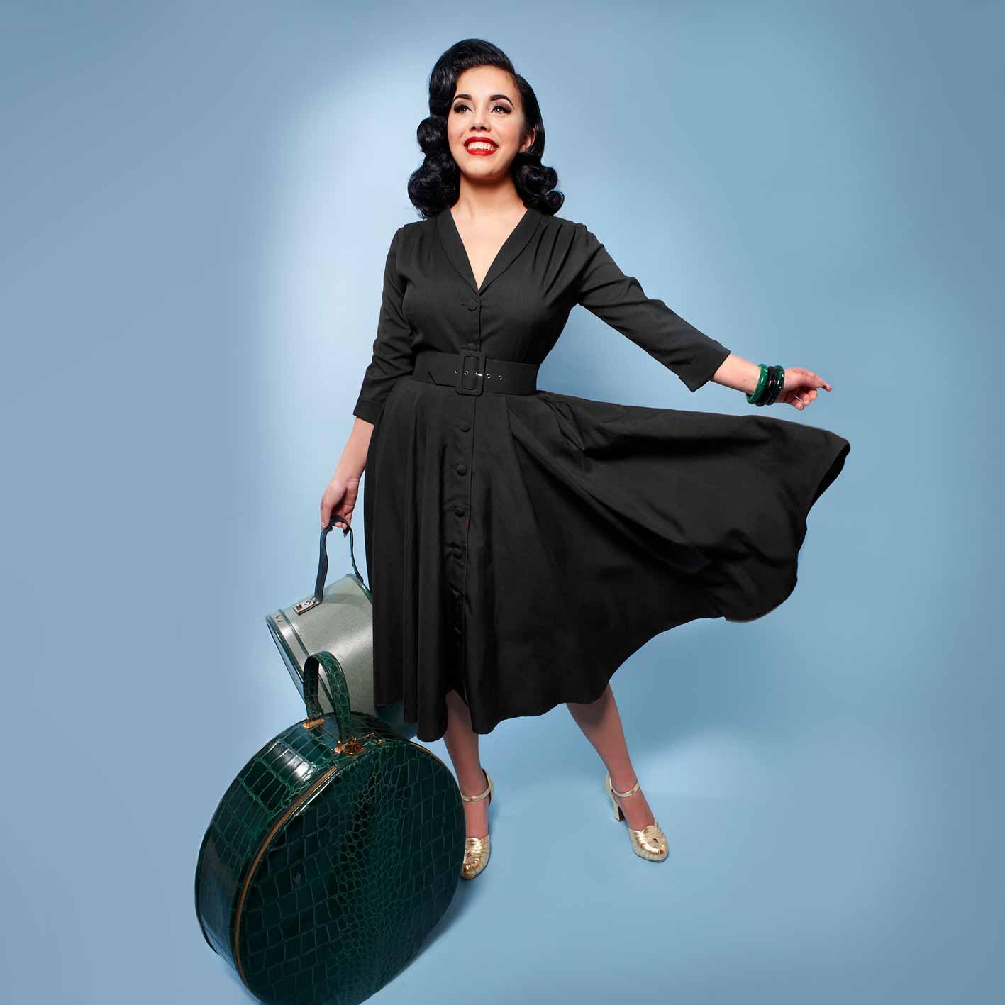 Monte carlo swing kjole i 50er stil fra Heart of haute