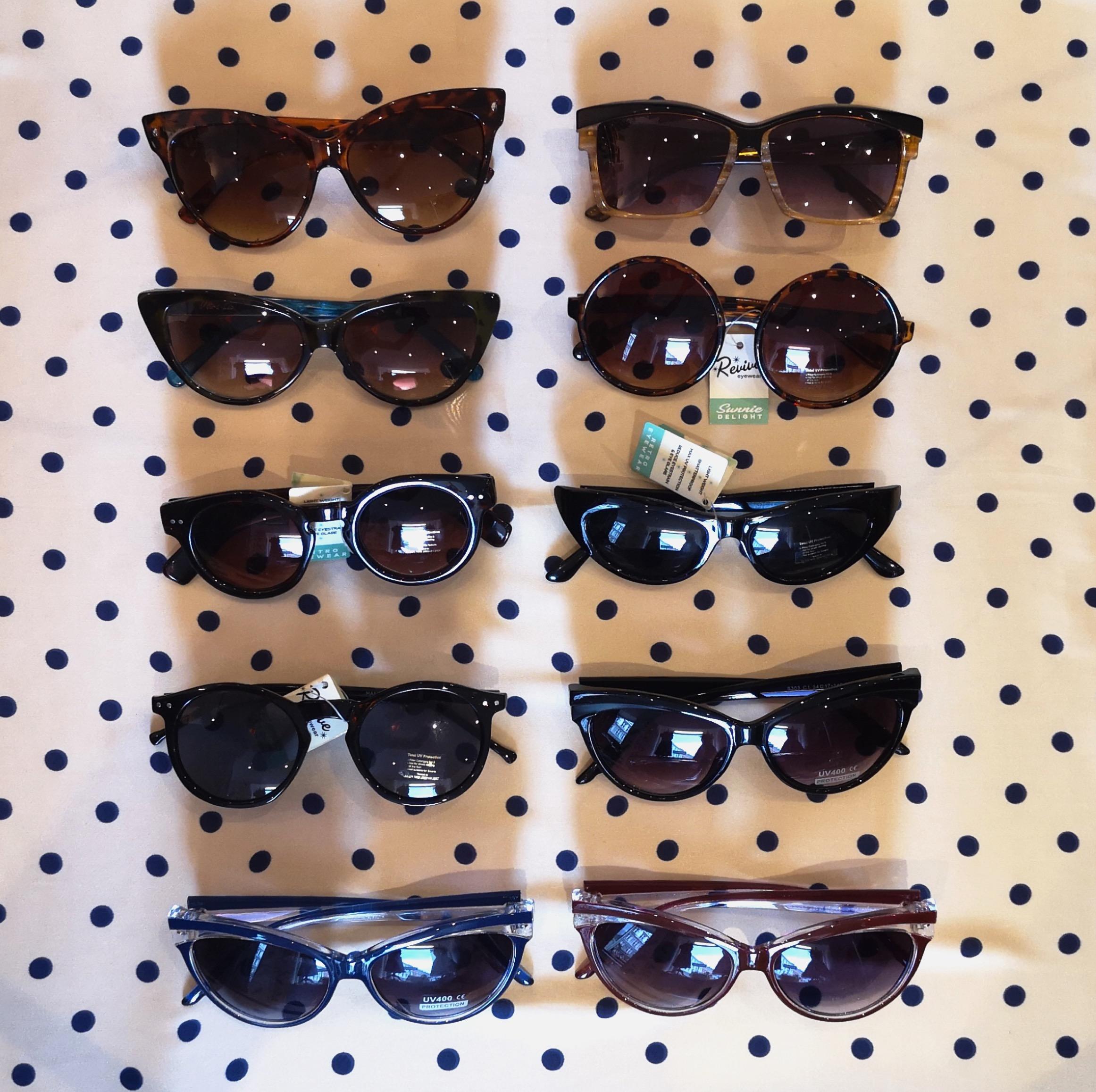 1950er retro stil cateye solbriller fra Mondo Kaos