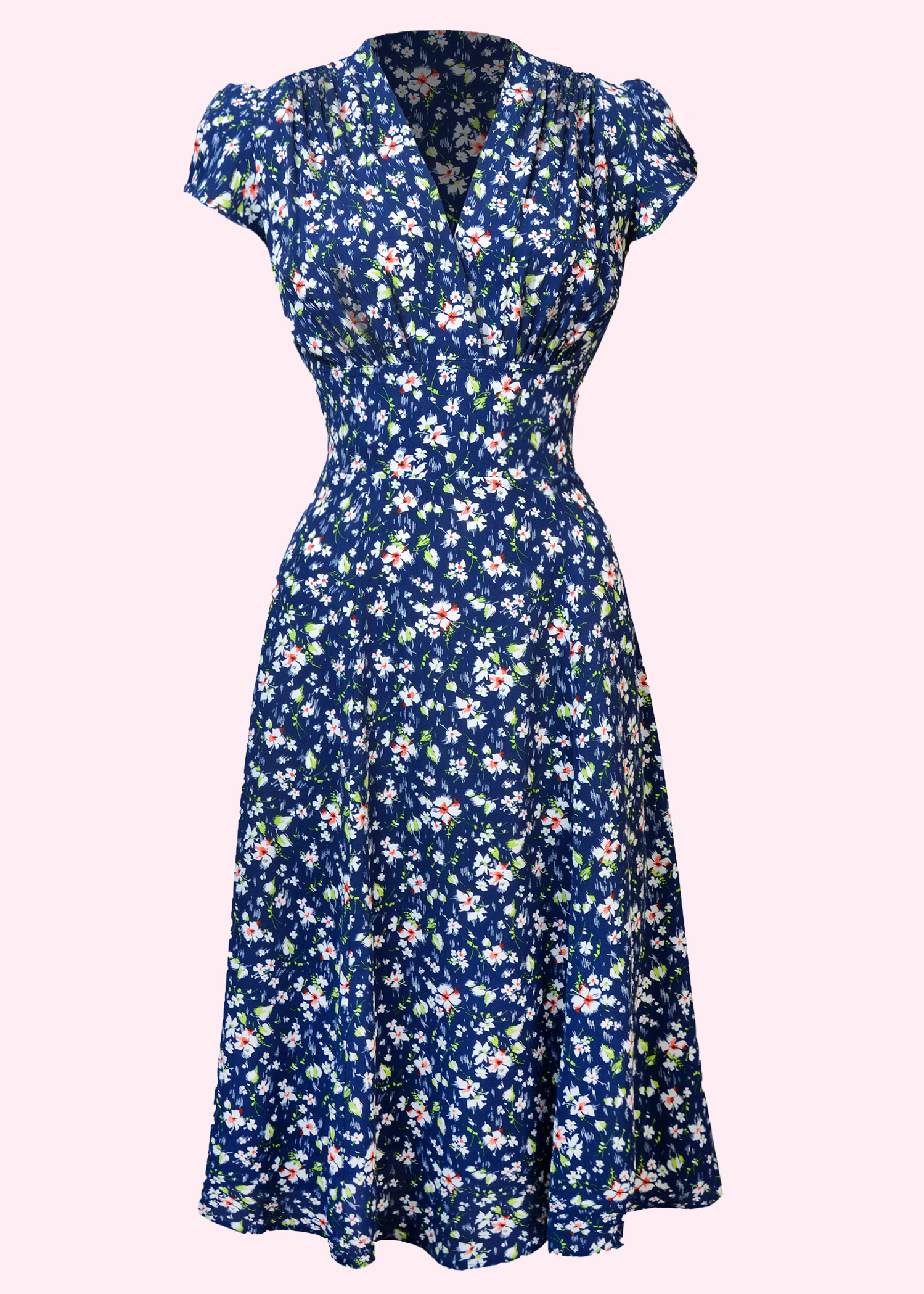 The Ava dress from The house Of Foxy is a classic 40s dress