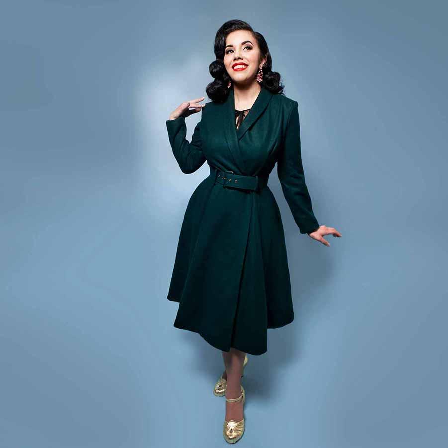Retro og vintage stils frakker fra mondo kaos