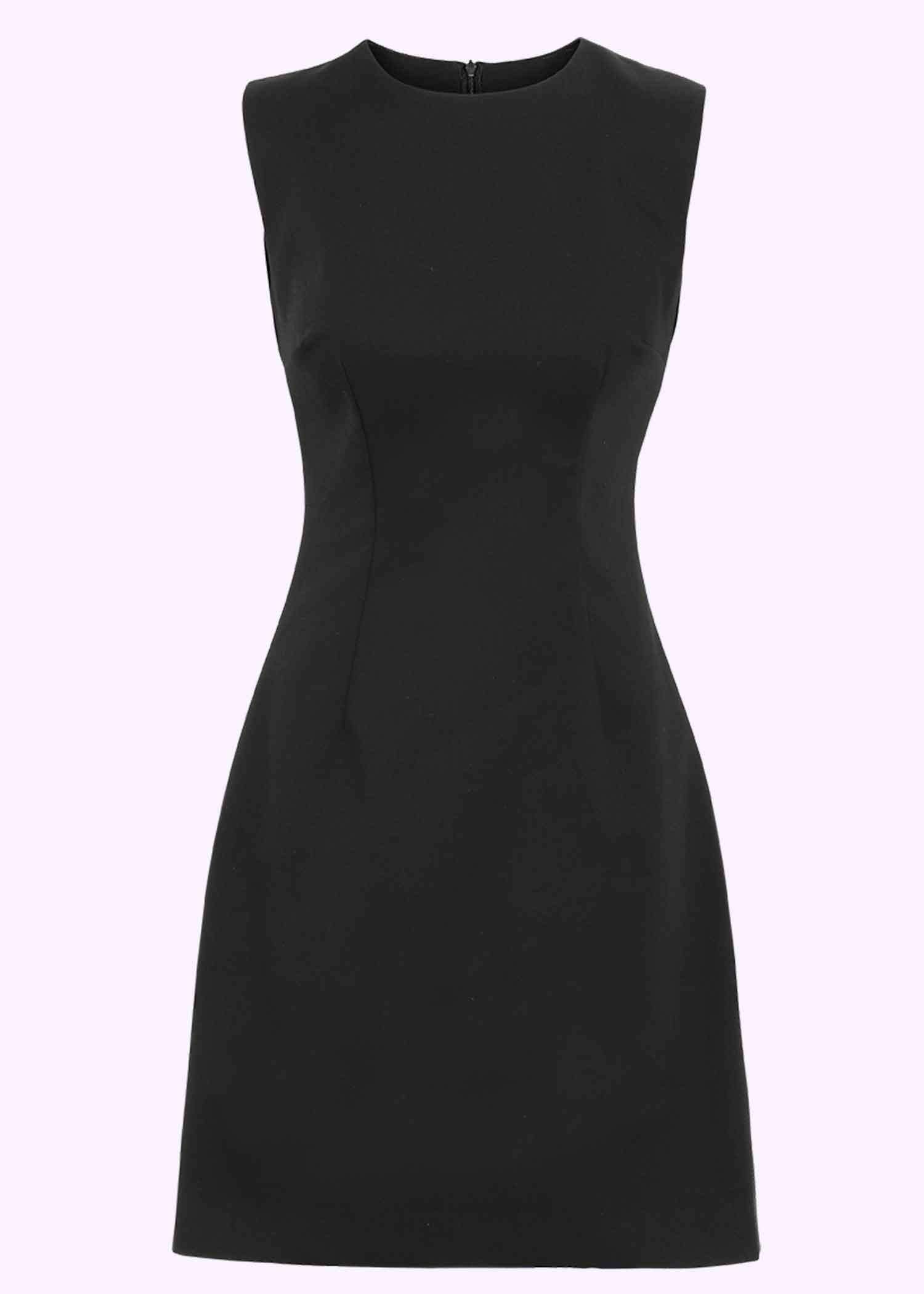 Klassisk 60'er Mini kjole i sort fra Marmalade