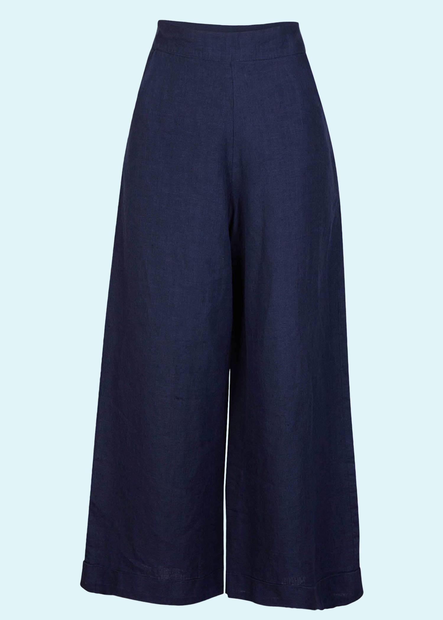 Retro bukser med vidde ben fra Palava