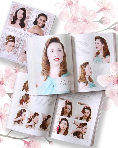 Lav vintage inspirerede brude frisurer med bogen frs Lauren Renells