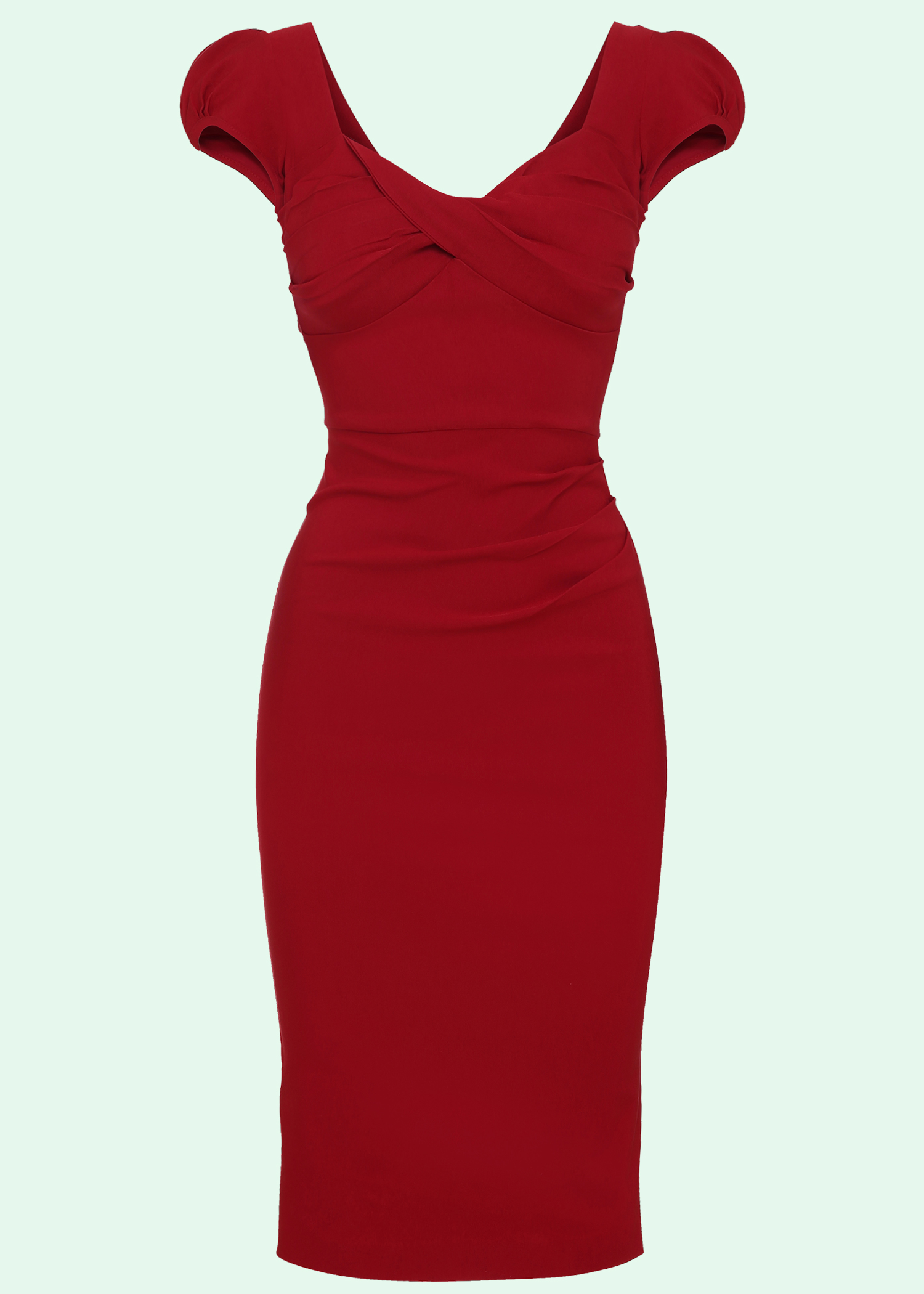 Red 50s inspired pencil dress from Stop Staring!