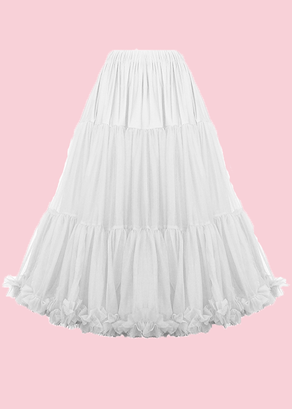 Petticoat for the vintage wedding dress