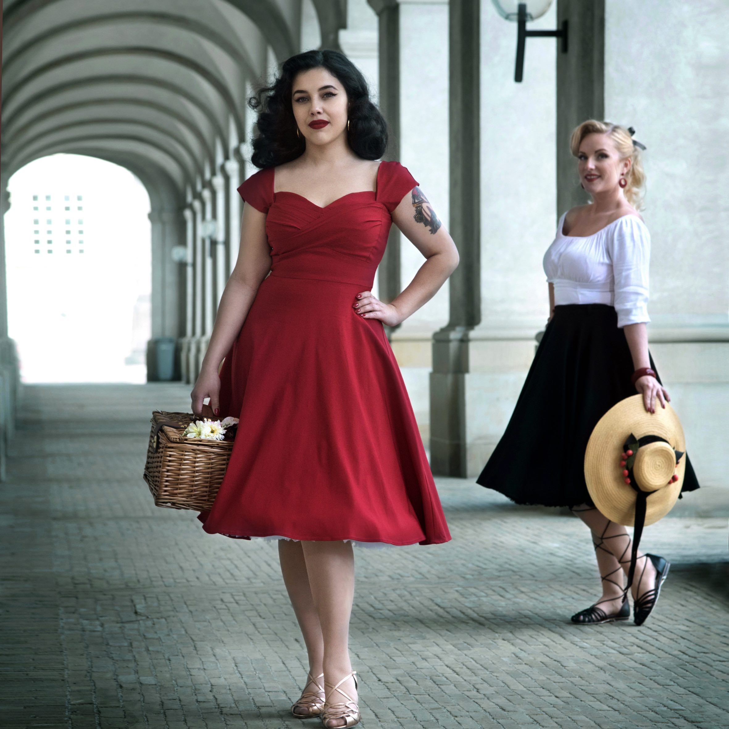 Swing dress in 50s style from Stop Staring
