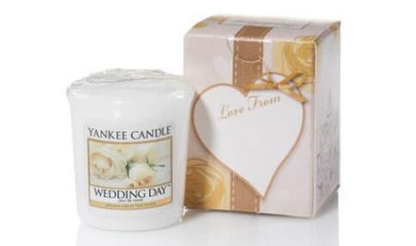 candle wedding favour