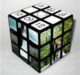 puzzle wedding favour
