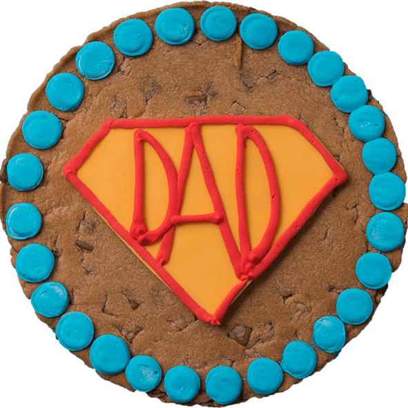 SUPERDAD Giant Chocolate Chip Cookie