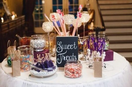 wedding favour sweets
