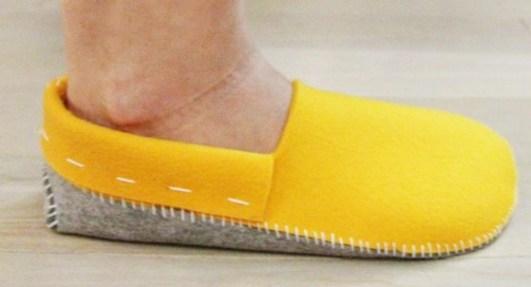 Make slippers