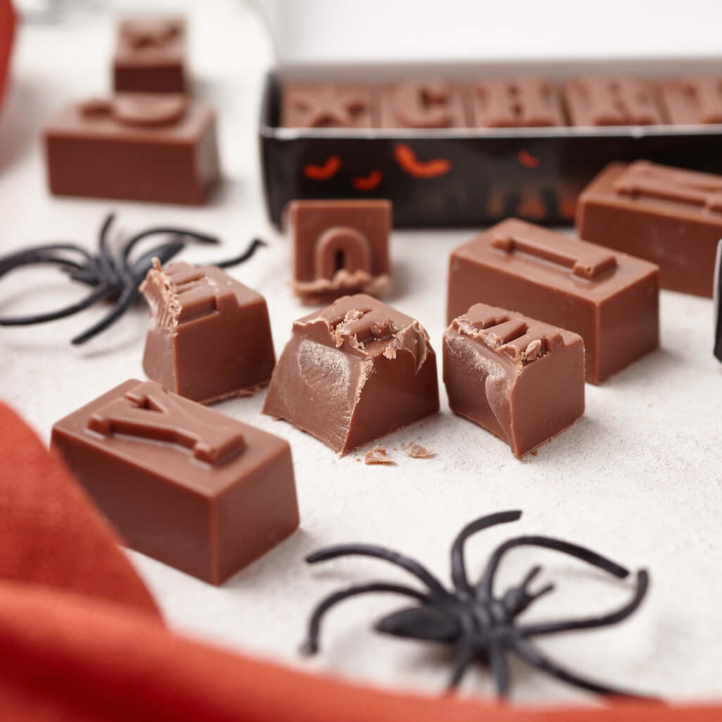 personalised halloween chocolate