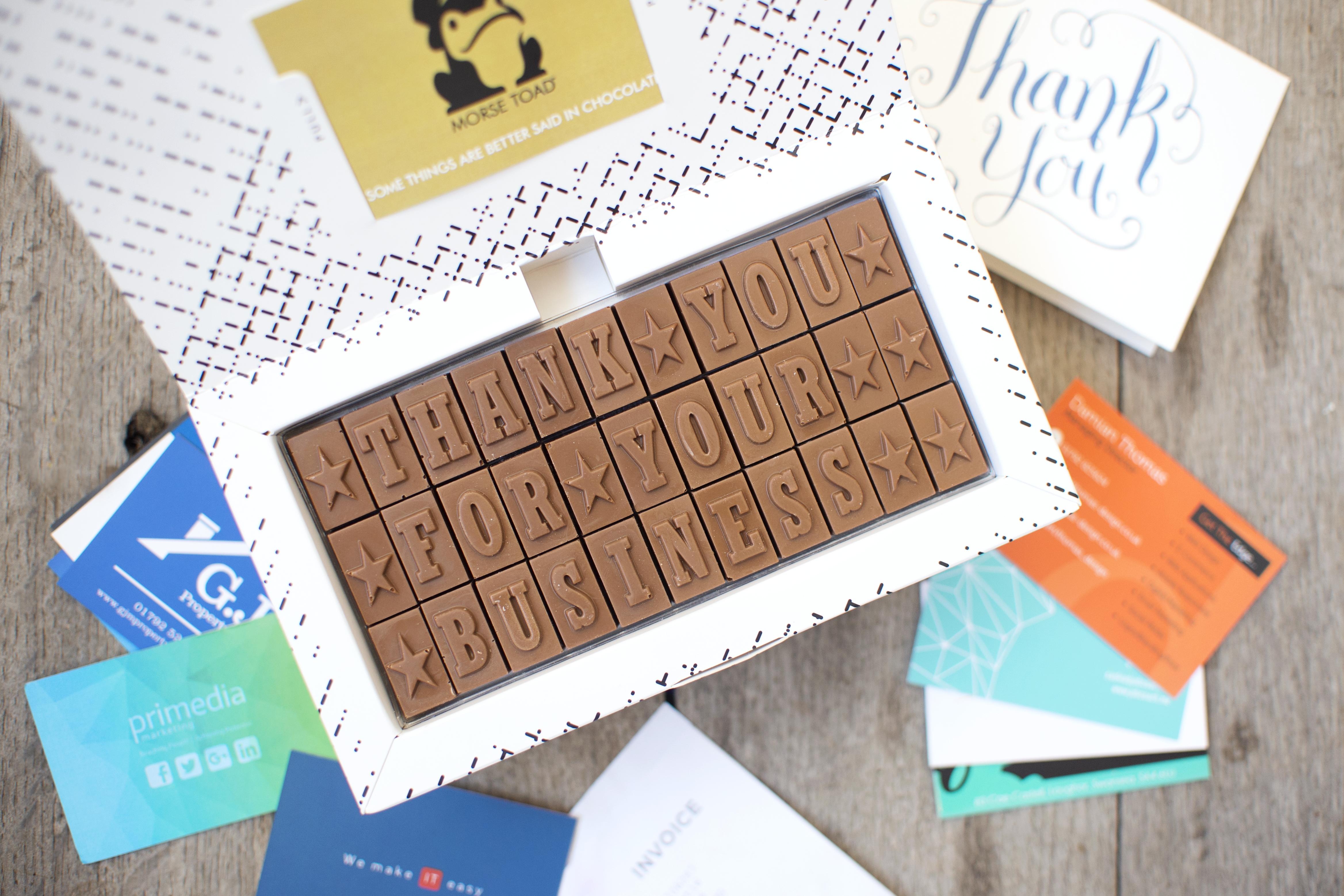 business chocolates