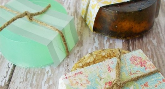 Make specialty soaps