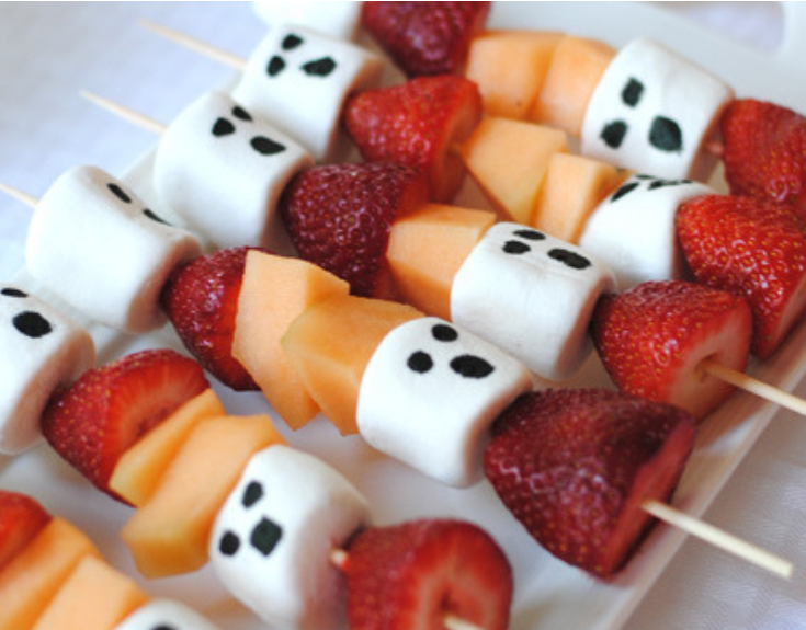 fruit halloween party treat