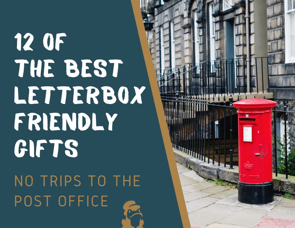 letterbox friendly gifts