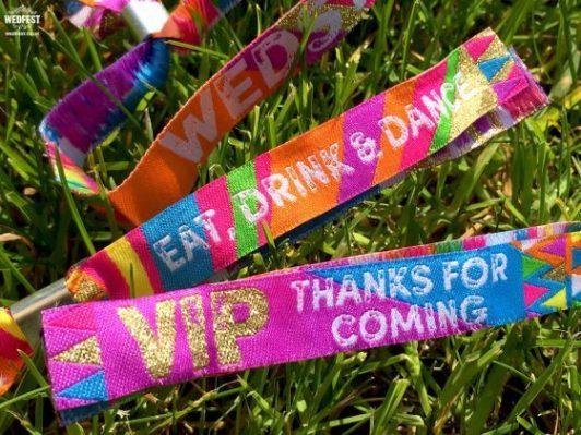 festival wedding favour ideas