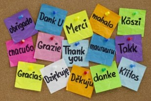 how to say thank you