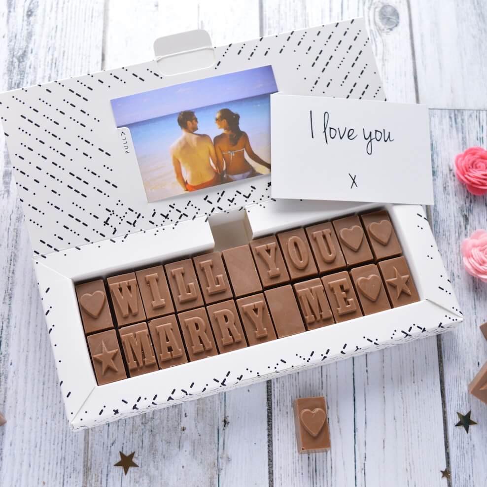 wedding proposal gift