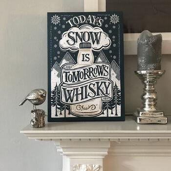 chocolate whiskey advent calendar