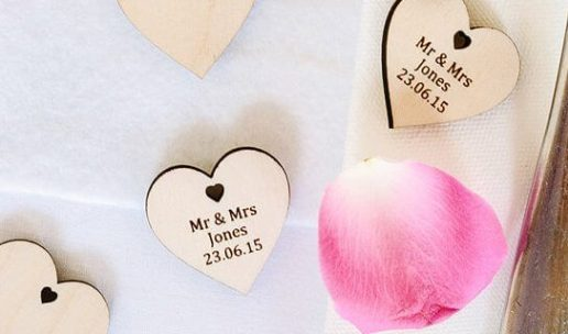 personalised wedding favour ideas