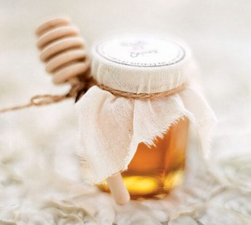 honey wedding favours