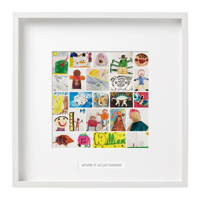 Personalised Collage Of Your Kids Drawings
