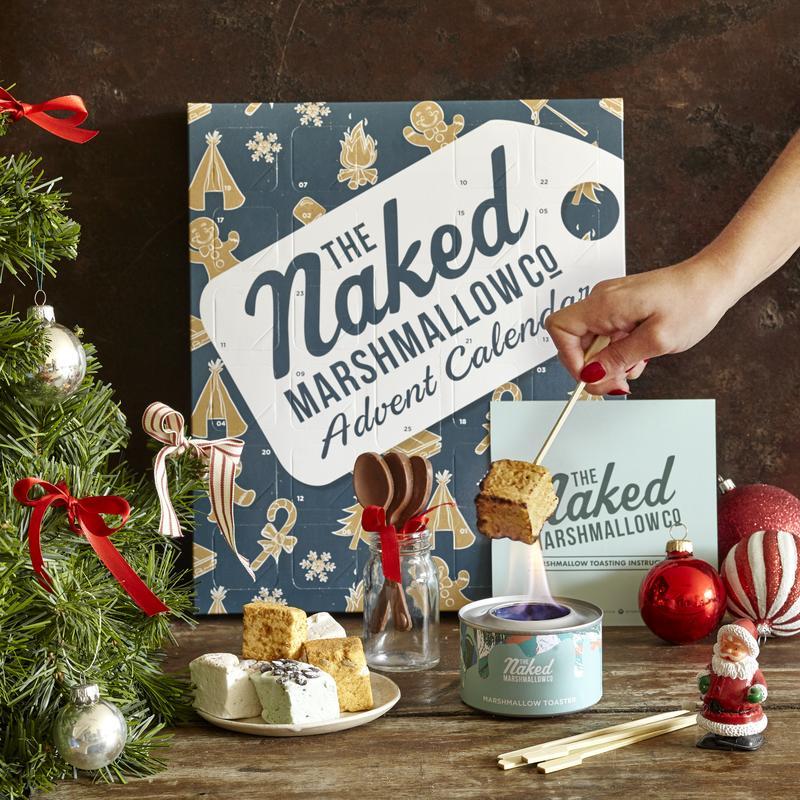 marshmallow advent calendar