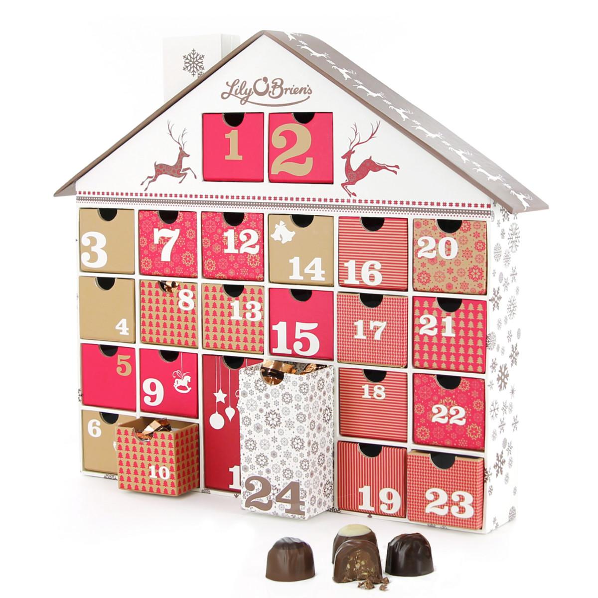 chocolate advent calendar idea