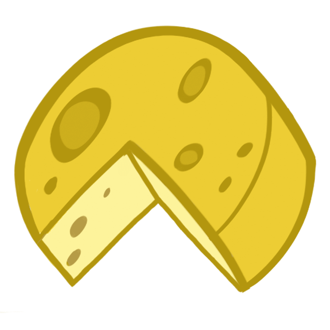 illustrated cheese