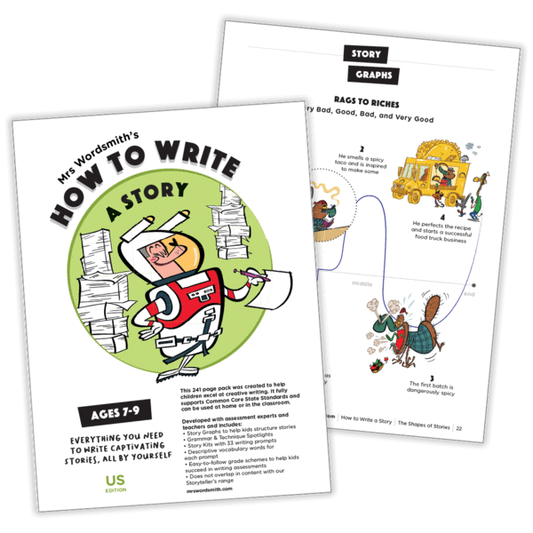 how to write a story worksheets
