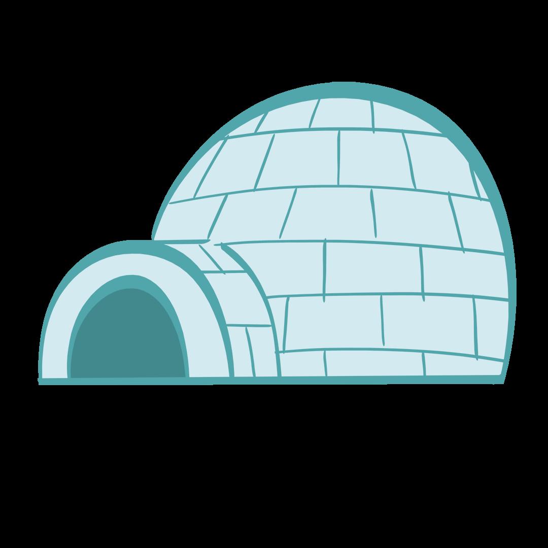 illustrated igloo