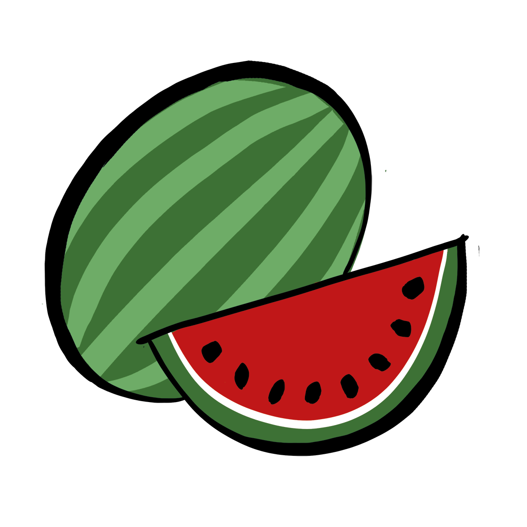 illustrated watermelon