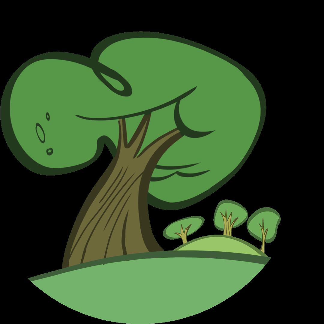 illustrated tree