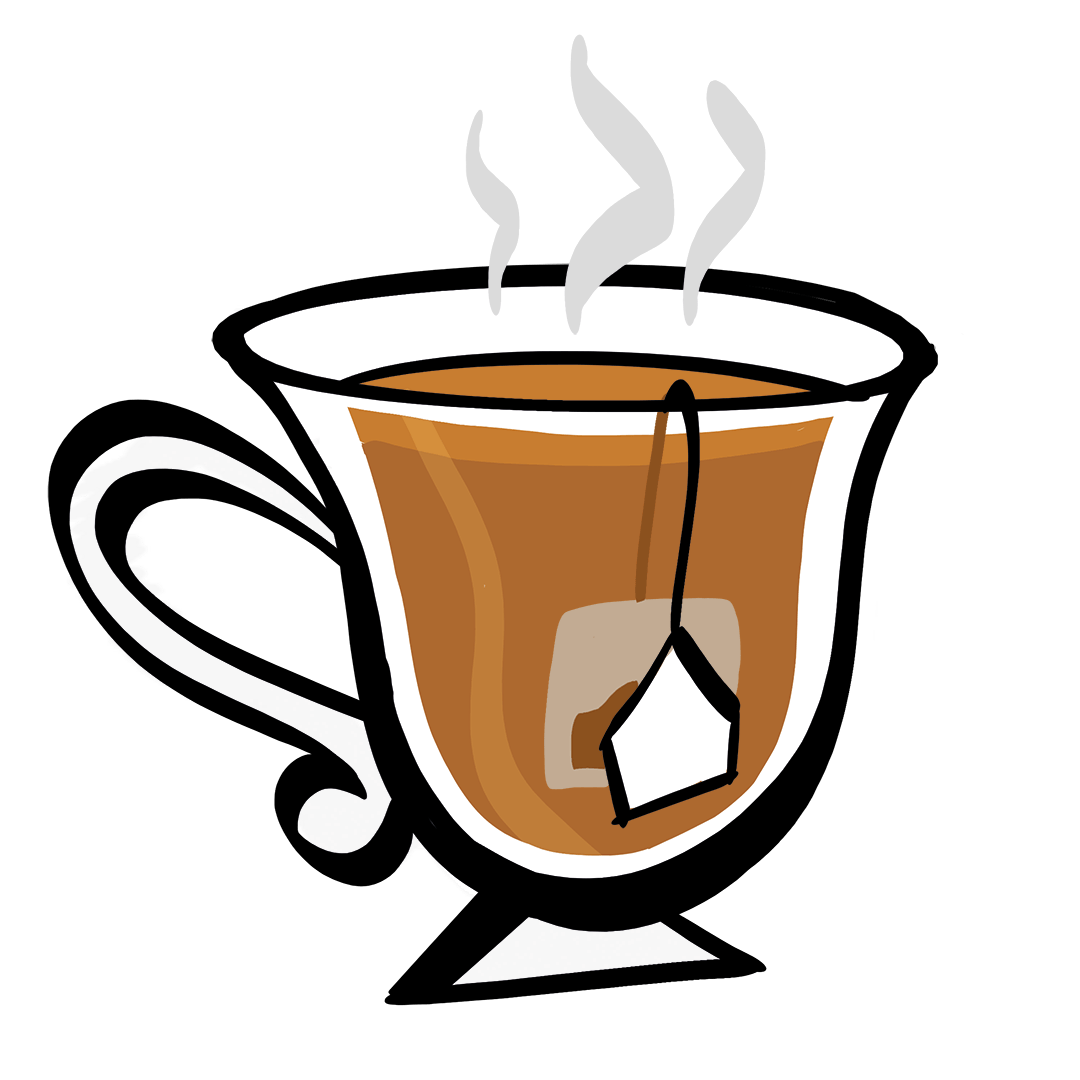 illustrated cup of tea