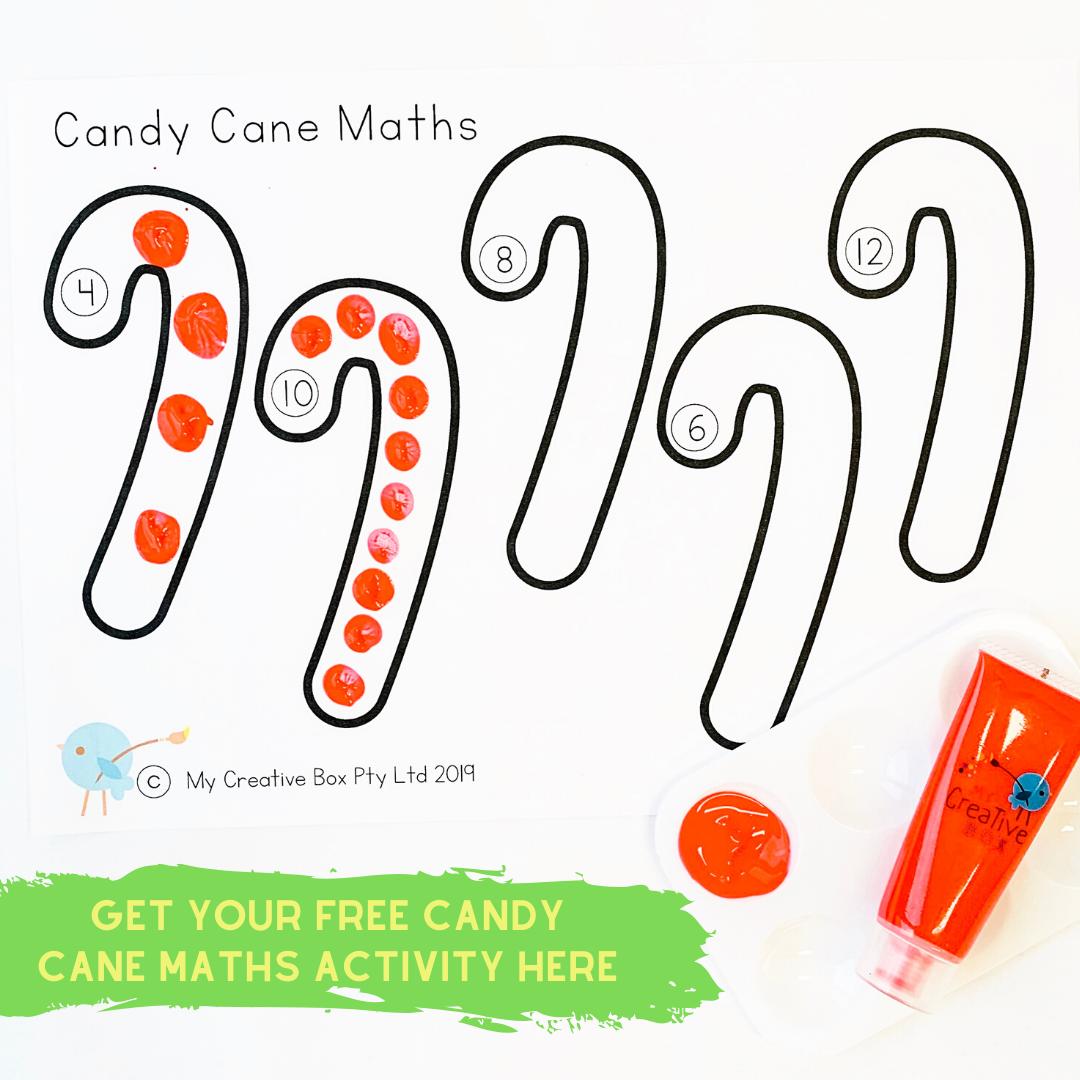 Christmas maths activities for kids free printable
