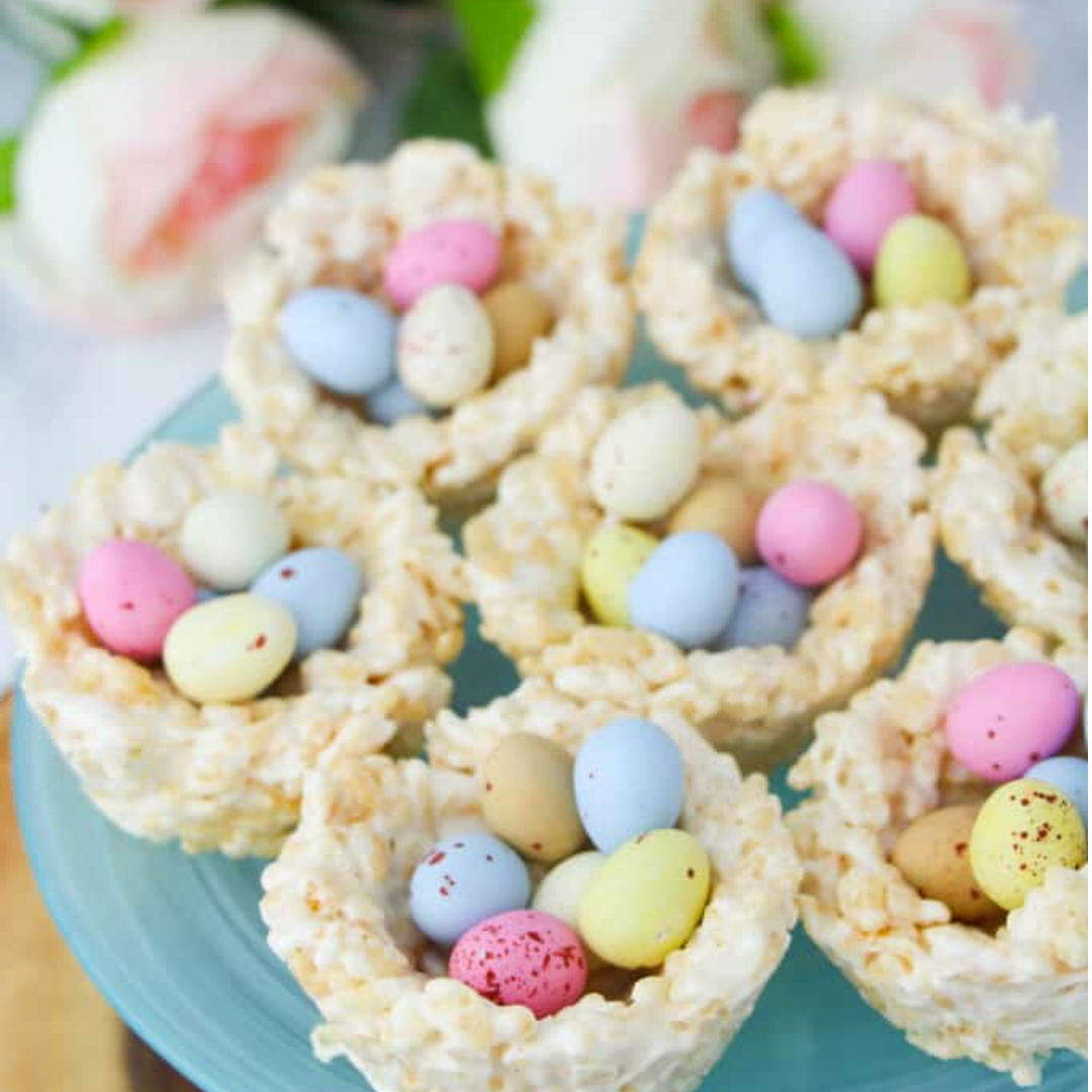 kids easter treats nests simple to make activity self isolation easter for kids fun