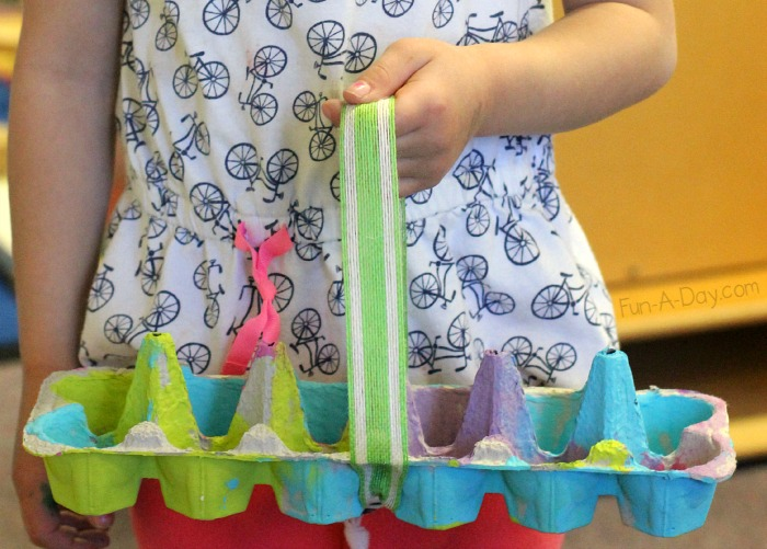 Kids easter baskets ideas activities art and craft at home easter recycling easter egg hunt