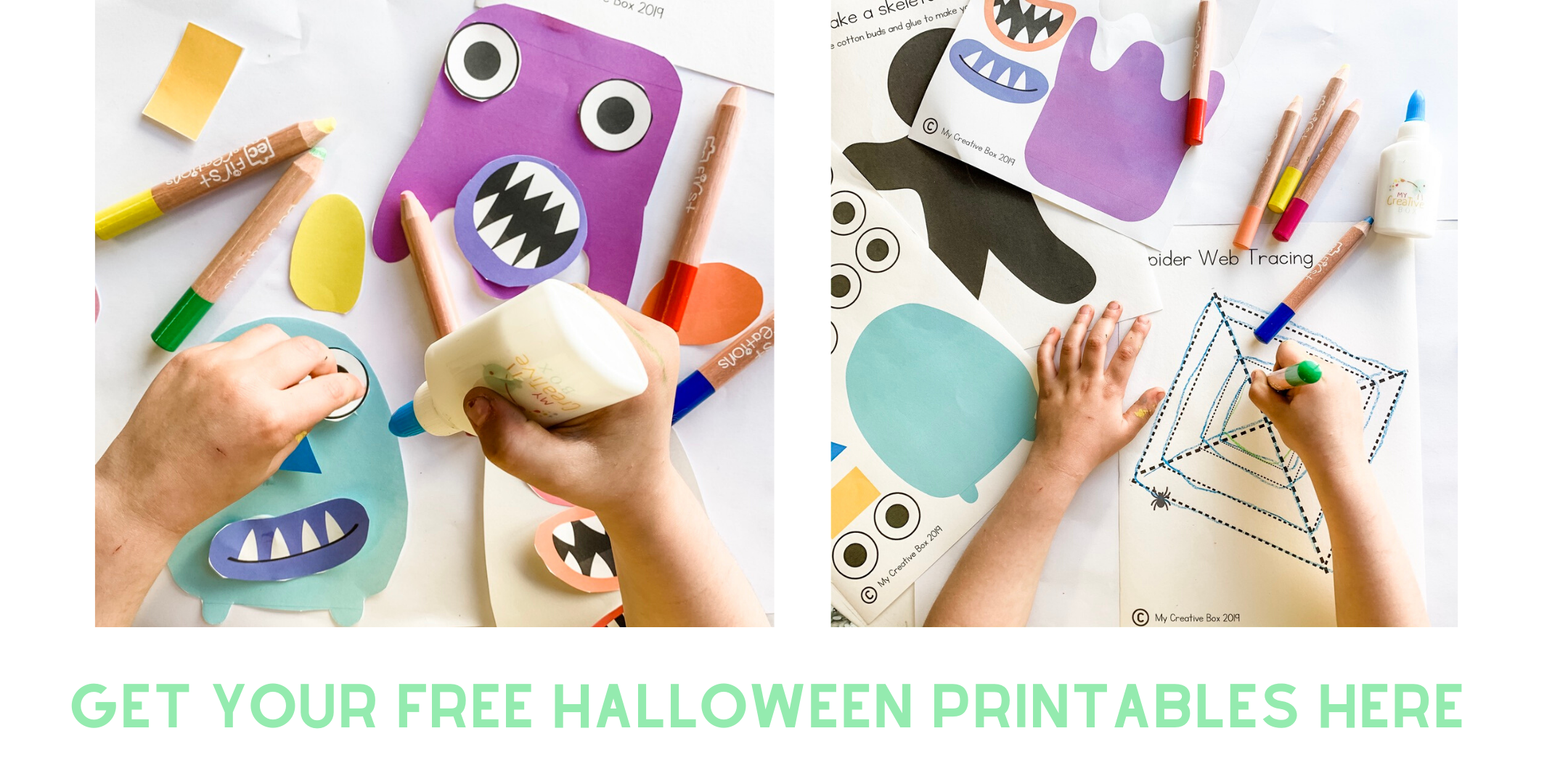 FREE HALLOWEEN LEARNING PRINTABLES FOR KIDS