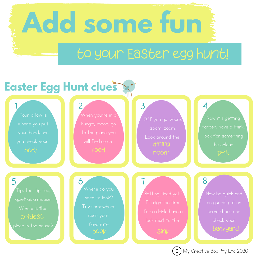kids easter egg hunt free printables learning and easter at home activities for the familt