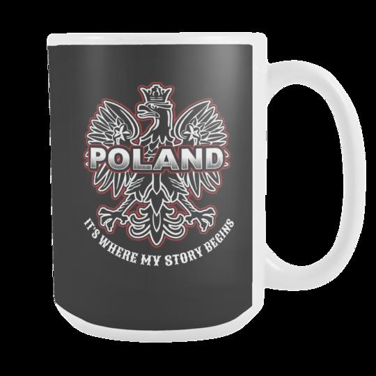 Poland Story 15oz Mug