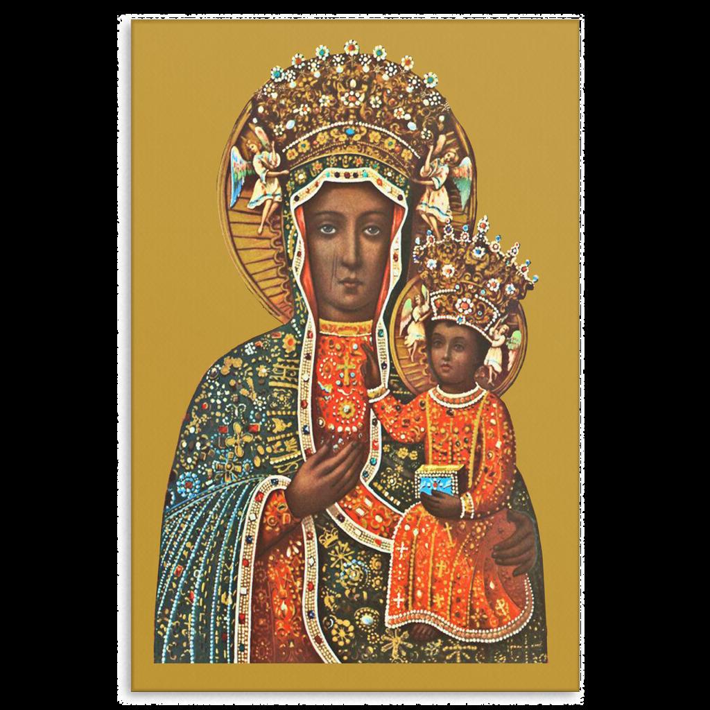 Black Madonna of Czestochowa Canvas