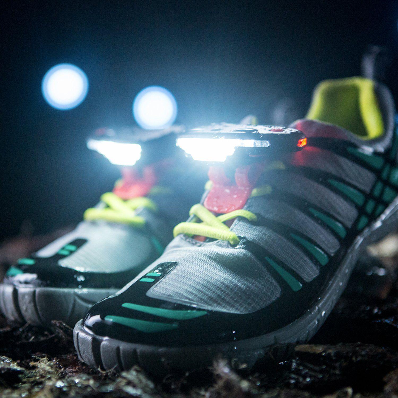 Night Runner 270 Schuhlichter für Läufer und Wanderer als Alternative zu Stirnlampen und Brustlampen