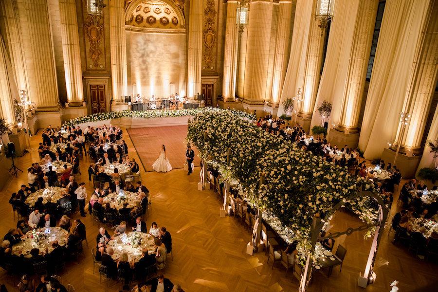 Overview of Rose Wedding Arbor Room – Liz Banfield