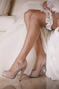 Top de novia de encaje