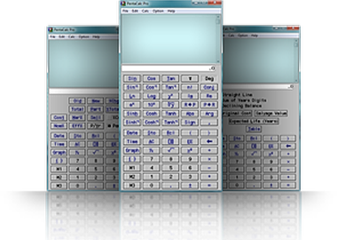 10-key calculator software.