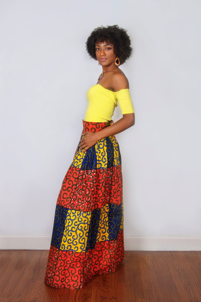 https://www.oludan.com/collections/skirts/products/blue-record-african-midi-skirt