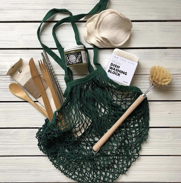 Wooden kitchen utensils, reusable bag, and kitchen products