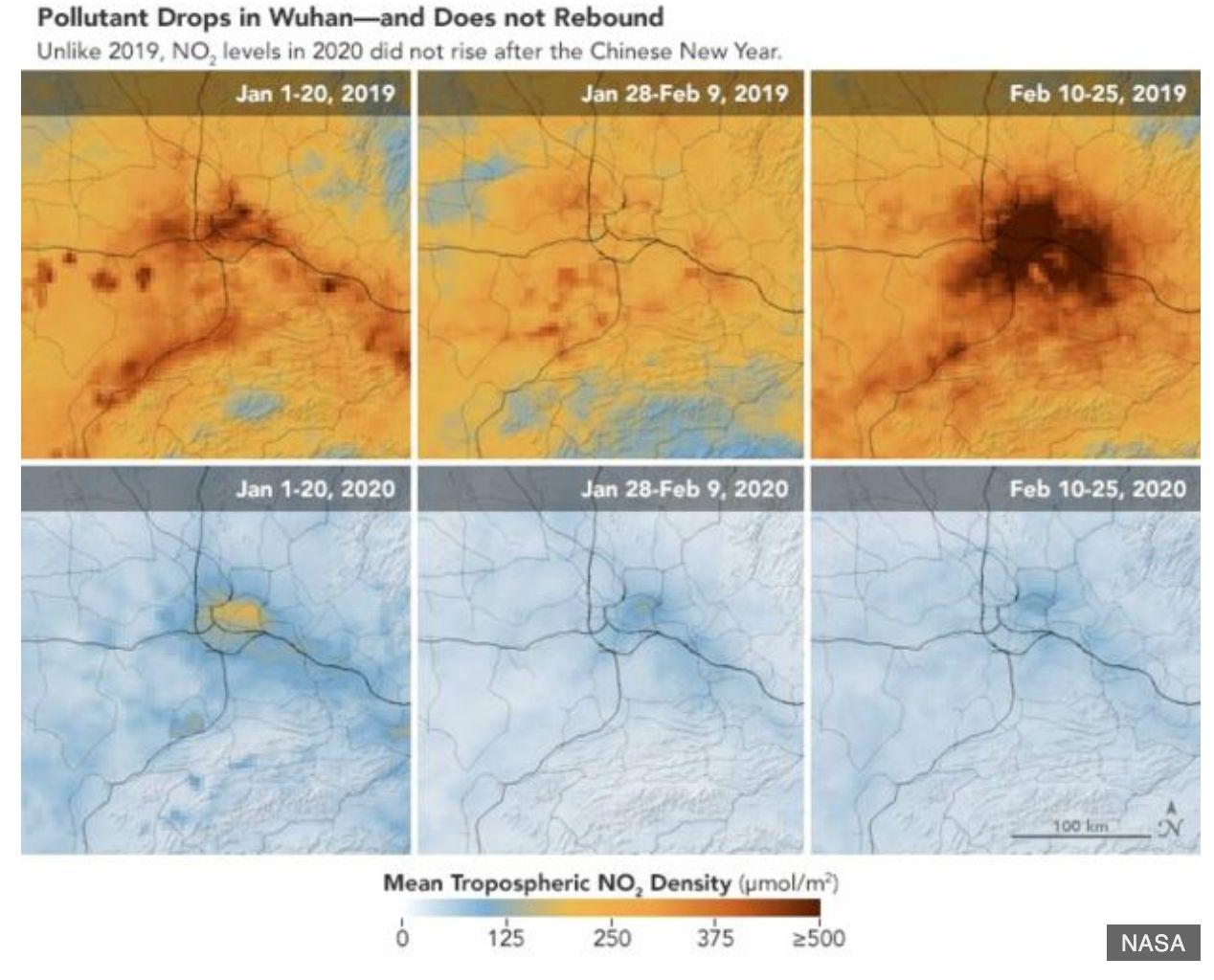 Images of China from NASA